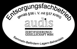 audis - Zertifizierter Entsorgungsfachbetrieb
